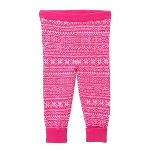 Baby Gap Girl Crazy Stripe Sweater Tights Multi Pink Ivory SZ 12-24M 12M 24M $16